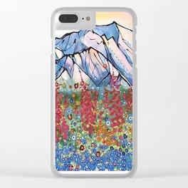 Denali Alpenglow Clear iPhone Case