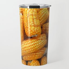 Corn pattern Travel Mug