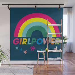 Girl Power! Wall Mural