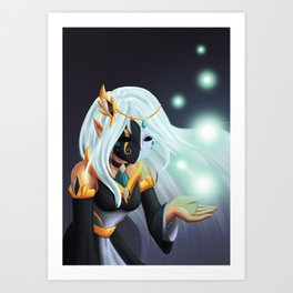 Goddess of Life and Death Art Print