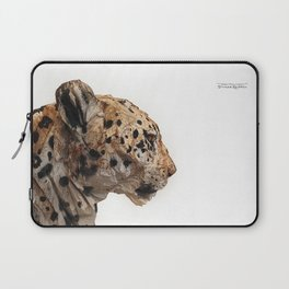 Wooden panther Laptop Sleeve