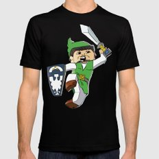 A link to the Block Black MEDIUM Mens Fitted Tee
