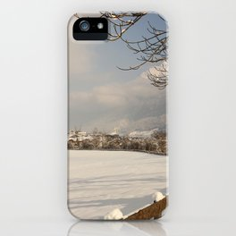 Winterwonderland iPhone Case