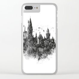 Hogwarts Clear iPhone Case
