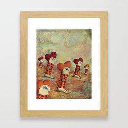 Yague Dreams Framed Art Print