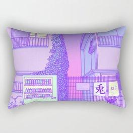 Pastel Tokyo Cats Rectangular Pillow