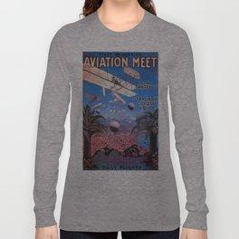 Vintage poster - Aviation Meet Long Sleeve T-shirt