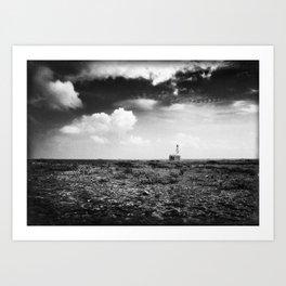 Klein Curaçao (Little Curacao) Lighthouse Art Print