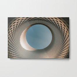 Messe Basel New Hall by Herzog & de Meuron Metal Print