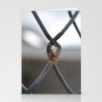 spider Stationery Cards featuring Spider by Labartwurx