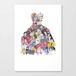Westwood forever Canvas Print