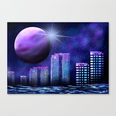 Space Mystik Canvas Print