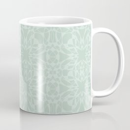 Vintage Look Mint Pattern Coffee Mug