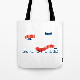 Womens Blessed Aunt LGBT design, Colorful Cool Auntie Tote Bag