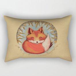mi amigo el zorro Rectangular Pillow