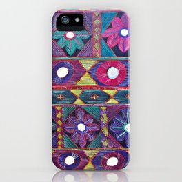 Embroidery iPhone Case