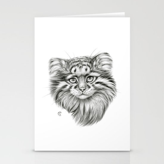 Pallas's Cat G2012-51 Stationery Cards