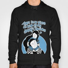 There is no place higher than on Daddy's shoulders Hoody