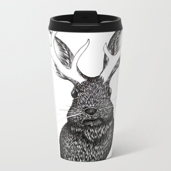 The Jackalope Metal Travel Mug