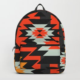 Aztec geometry Backpack