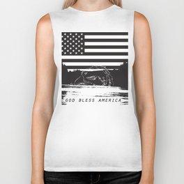God bless America! Biker Tank