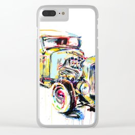 Hotrod 1932 Clear iPhone Case