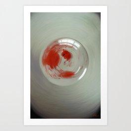 Embryogenesis #3 of 3 Art Print
