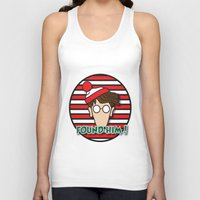 waldo Tank Tops featuring Found Waldo! by EdwardJ