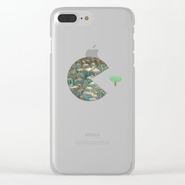 Pacman Clear iPhone Case