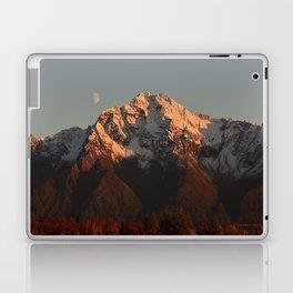 Moon Over Pioneer Peak Laptop & iPad Skin