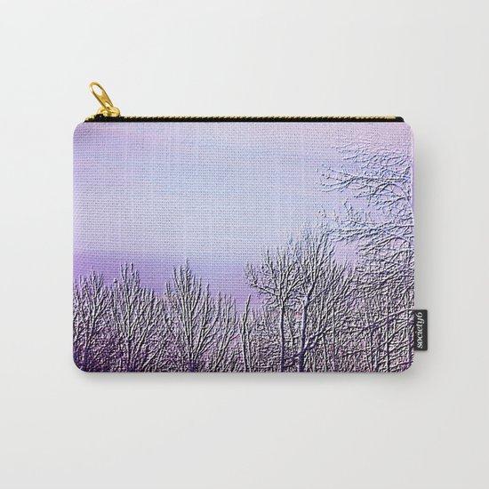 Lavender Dusk Landscape | Nadia Bonello Carry-All Pouch