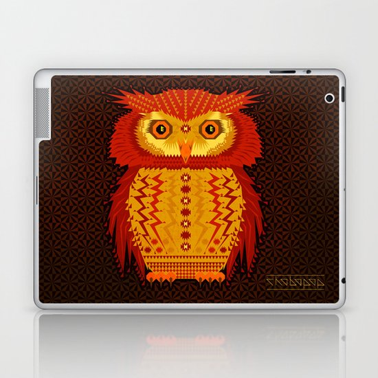 Geometric Owl Laptop & iPad Skin