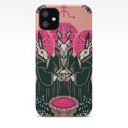 Bloodletting ritual iPhone Case