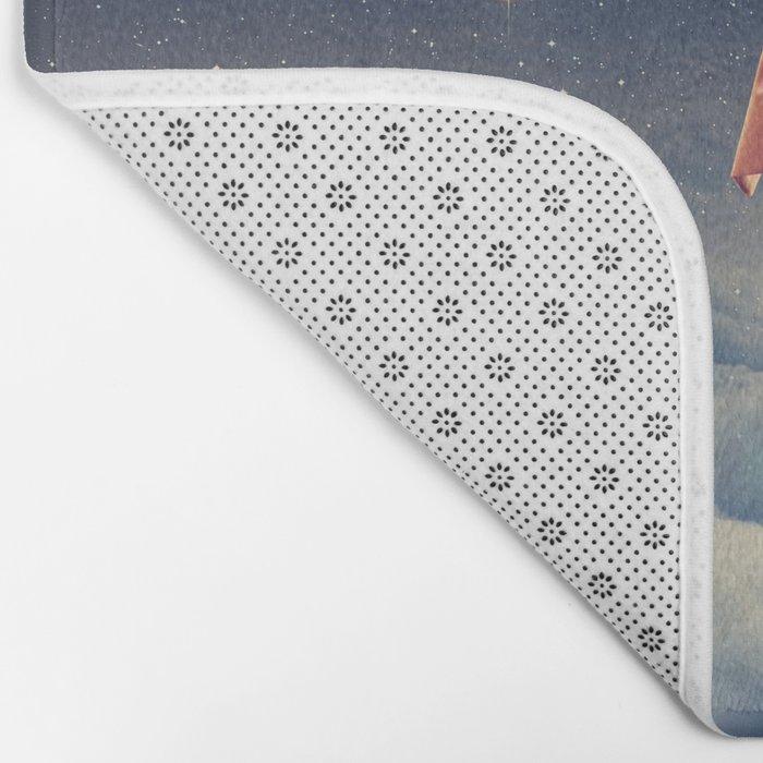 Galactic Traveller Bath Mat