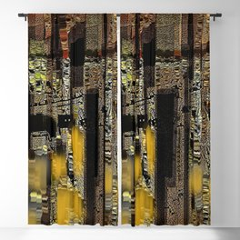 The City Of Many Dimensions Abstract Cityscape Blackout Curtain