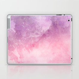 Pink Watercolor Texture Laptop & iPad Skin