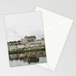 Amboise from the river Stationery Cards