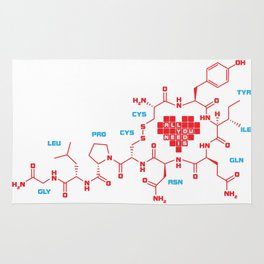 The chemistry of love Rug