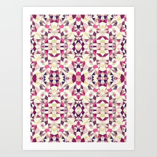 Rose Tribal Art Print