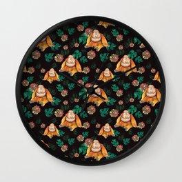 Forest Of Orangutans Wall Clock