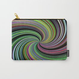 Abstract Colorful Twirl Carry-All Pouch