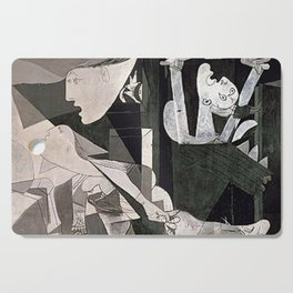 GUERNICA #2 - PABLO PICASSO Cutting Board