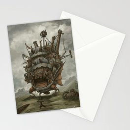 Howl´s moving castle by Aleck Stationery Cards