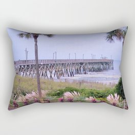 The Last Day Of The Surfside Pier Rectangular Pillow