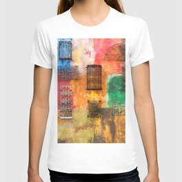 BLACK AND WHITE IRON WORKS T-shirt