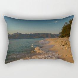 Sunrise at Gili Meno Rectangular Pillow