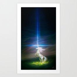 Lasers Art Print