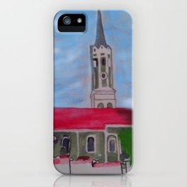 Kirche Schmatzhausen Niederbayern iPhone Case