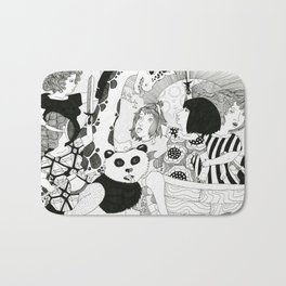 Welcoming Party Bath Mat