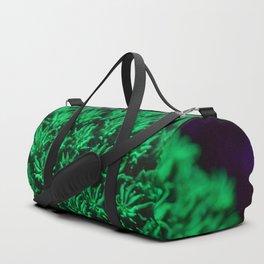 Fluorescent coral polyps reaching toward infinity Duffle Bag
